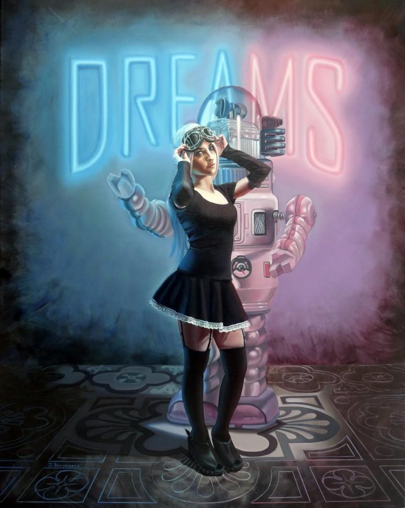 Dreams. Oleo sobre tela. 100x80cm